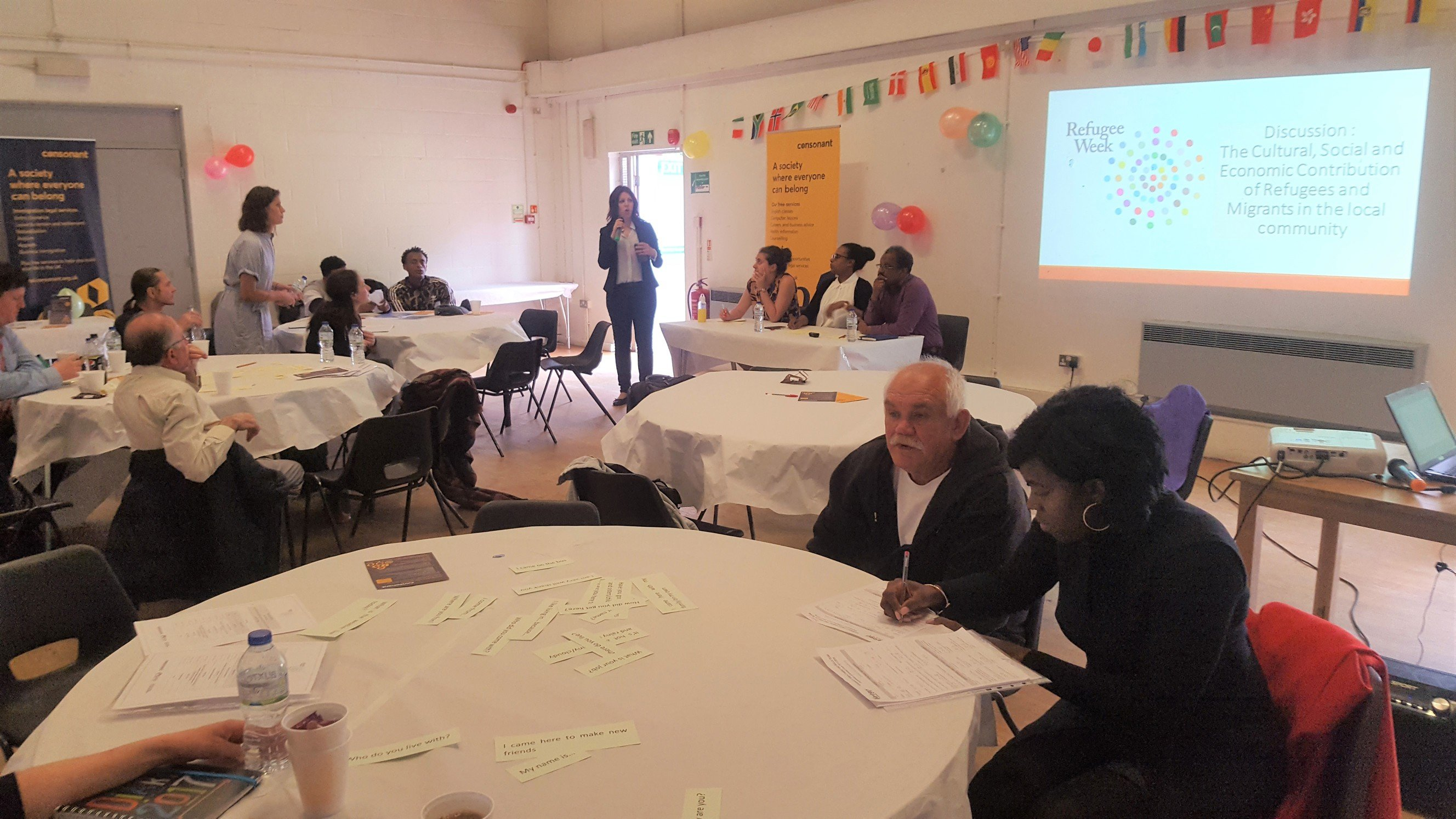 Connected Communities project Refugee Week event 2019