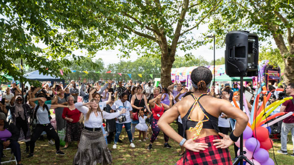 Chestnuts Park Fest brought together over 700 people to enjoy a day full of activities